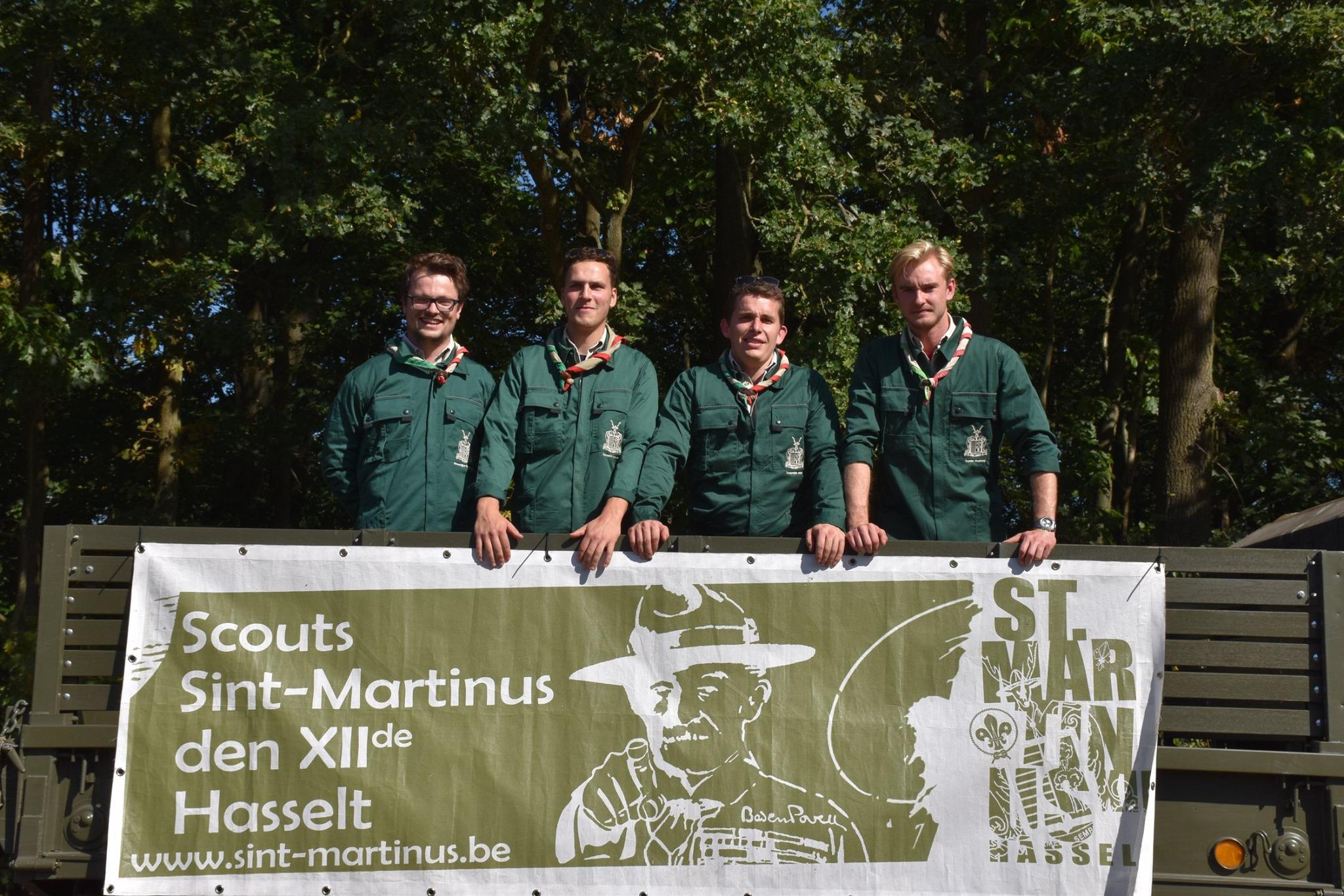 Sint-Martinus den XIIde - Materiaalploeg
